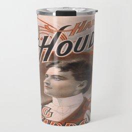 Vintage poster - Harry Houdini, King of Cards Travel Mug