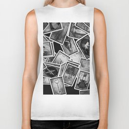 New tarot | Black and white | New age | Gypsy | Fortune telling | Tarot cards Biker Tank