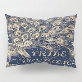 Pride and Prejudice, Peacock; Vintage Book Cover Pillow Sham