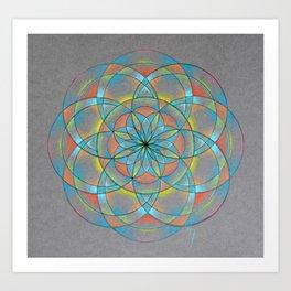 Seed of Life Mandala Art Print