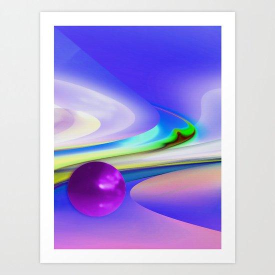 Ball 25 Art Print