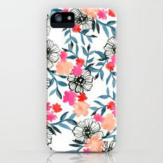 Tiny Floral Slim Case iPhone (5, 5s)