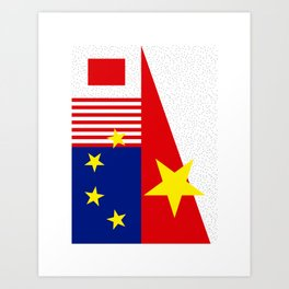 Flag1 Art Print