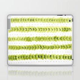 Leaf Pattern in Watercolour Laptop & iPad Skin