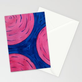 Pink Tree Rings Stationery Cards