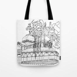 Conservatory of succulent - Black Tote Bag