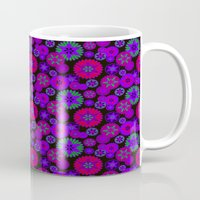 olivia joy Mugs featuring Joy Foulard  by Nina May Designs