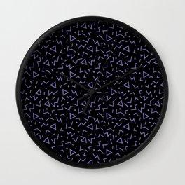 Memphis Pattern 15 - 80s Retro Wall Clock