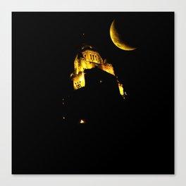 LeVeque At Night Canvas Print