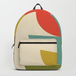Mid-Century Modern Half Circles - Multi Backpack