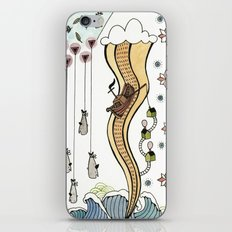 Hanging Whales iPhone & iPod Skin