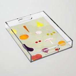 Fruit Medley Acrylic Tray