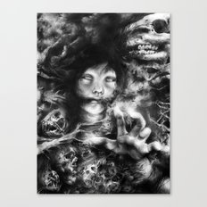 The Follower Canvas Print