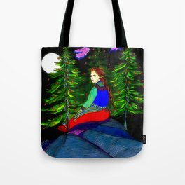 Waiting In The Moonlight Tote Bag
