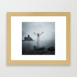 Return Framed Art Print