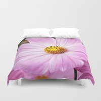cosmos Duvet Covers featuring Cosmos by Cindi Ressler Photography