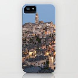 Sassi di Matera, Italy iPhone Case