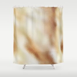 Champagne Foil Shower Curtain
