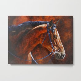 Hanoverian Warmblood Sport Horse Metal Print