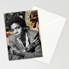 Tattooed Basquiat Stationery Cards