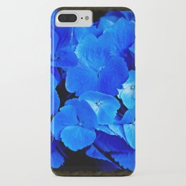Deep Blue Hydrangea iPhone Case