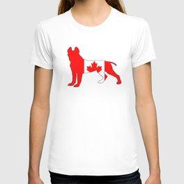 "Pit Bull Terrier ""Canada"" T-shirt"