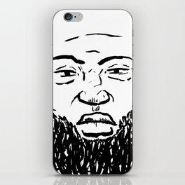 Bearded Saints iPhone Skin