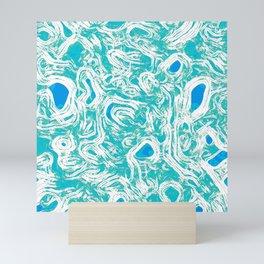 Aboriginal Abstract Oceanic Pulse No. 3 Mini Art Print