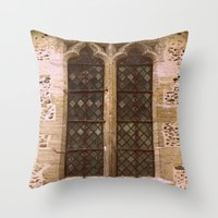 window Throw Pillows featuring Window by 2sweet4words Designs