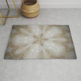 Shining Star // Visionary Art Magical Symbol Circle Energy Healing Chakra Crystal Grid Light Peace Rug