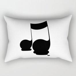 Melting musical moment Rectangular Pillow