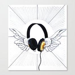 Heavenly sounds Canvas Print