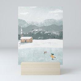 Snow Day Mini Art Print
