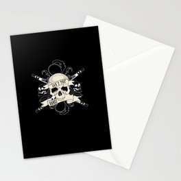 Bad 2 The Bones Stationery Cards