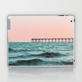 Beach Pier Sunrise Laptop & iPad Skin