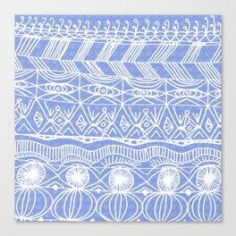 Periwinkle Blanket Canvas Print