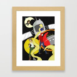 The Lunar Chronicles Framed Art Print