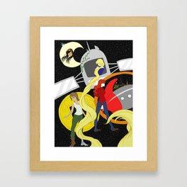 The Lunar Chronicles Framed Art Print