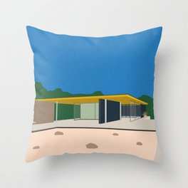 Ludwig Mies van der Rohe Barcelona-Pavillon Throw Pillow