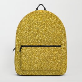 Gold Sparkles Backpack