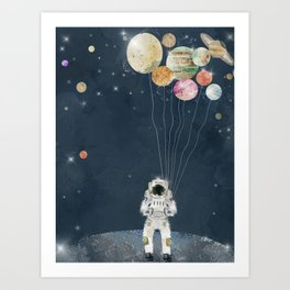 solar collector Art Print