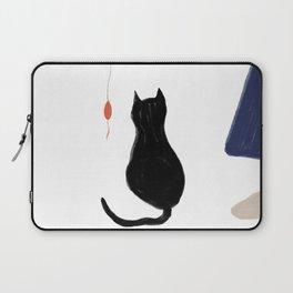 cat back Laptop Sleeve