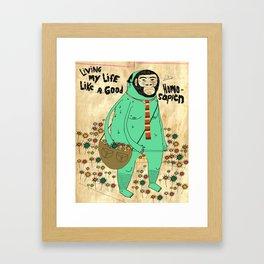 Good Homosapien  Framed Art Print