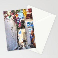 Tiffany Glass Style Greece Street Stationery Cards