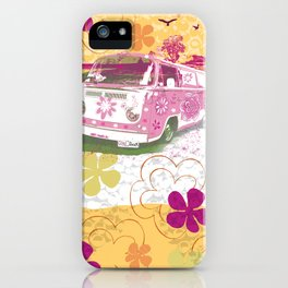 girl camper iPhone Case