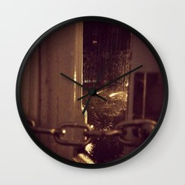 London brown Wall Clock