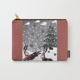 Snow Carnival Carry-All Pouch