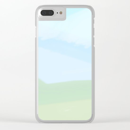 A Summer Day Clear iPhone Case