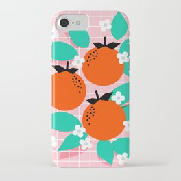 Bodacious - modern abstract minimal 1980s throwback memphis design trendy palm springs art iPhone Case