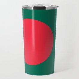 Flag of Bangladesh, Authentic color & scale Travel Mug